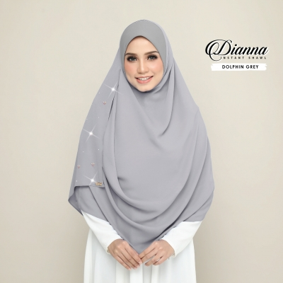 Dianna Luxe - Dolphin Grey