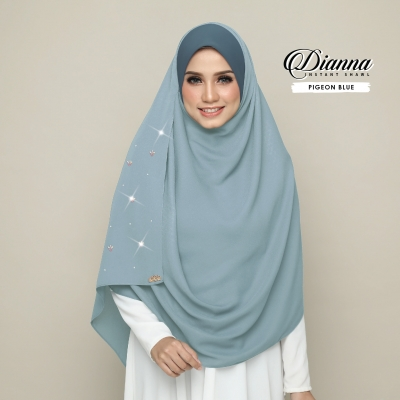 Dianna Luxe - Pigeon Blue